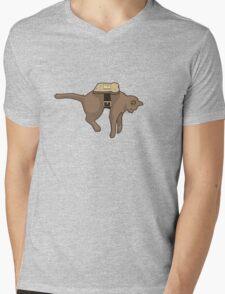 Anti-Gravity Mens V-Neck T-Shirt