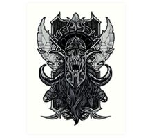 Viking Death Art Print