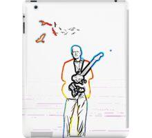 David Gilmour The Wireman iPad Case/Skin