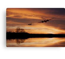Sunset Marauders  Canvas Print