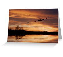 Sunset Marauders  Greeting Card