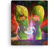 Pink Floyd Metal Heads Canvas Print