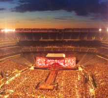 One Direction at Metlife 2014 Sticker