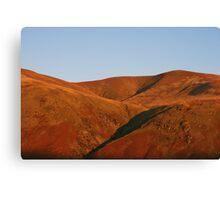 Martian Landscape - Lake District Canvas Print