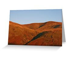 Martian Landscape - Lake District Greeting Card