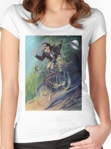 Captain Spaulding Rides Again! Women's Fitted Scoop T-Shirt