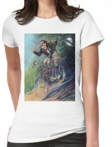 Captain Spaulding Rides Again! Womens Fitted T-Shirt