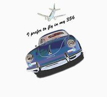Flying in my 356 T-Shirt