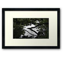 Sculptures in living water 9 Framed Print