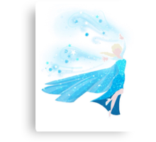 The Cold Never Bothered Me Anyway Canvas Print