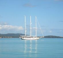 Sailing the Whitsundays by JuliaWright