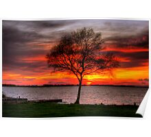 Lonesome Sunset  Poster