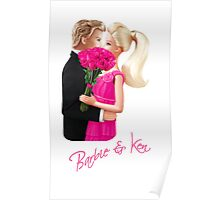 Barbie and Ken Poster