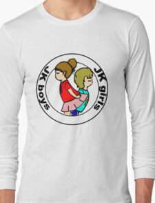 """Boys and Girls "" ( black layer ) Long Sleeve T-Shirt"