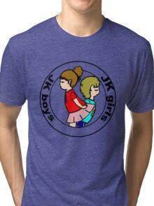 """""""Boys and Girls """" ( black layer ) Tri-blend T-Shirt"""