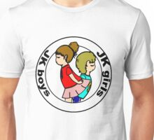"""Boys and Girls "" ( black layer ) Unisex T-Shirt"