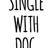 Single with dog by beakraus