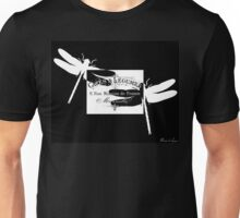 Vintage French dragonflies Unisex T-Shirt