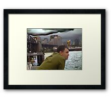 View Of The Bridge Framed Print