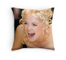 Something's Funny Throw Pillow
