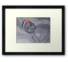 The Bow Framed Print