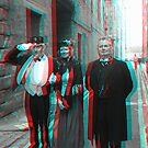 Anaglyph of Panopticon Glasgow Open Day by JPPreston