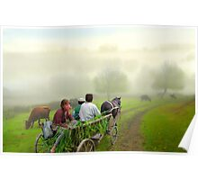 One Morning Ride Poster