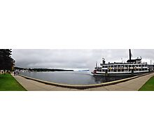 Lake George NY The Waterfront  Photographic Print