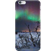 Northern Lights - creative editing iPhone Case/Skin