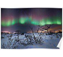 Northern Lights - creative editing Poster