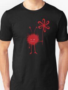 Evil Flower Bug Black IPhone Case T-Shirt