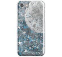 Full moon galaxy iPhone Case/Skin