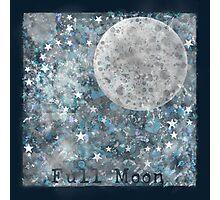 Full moon galaxy Photographic Print