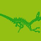 Dinos in Green 2 by Kadwell