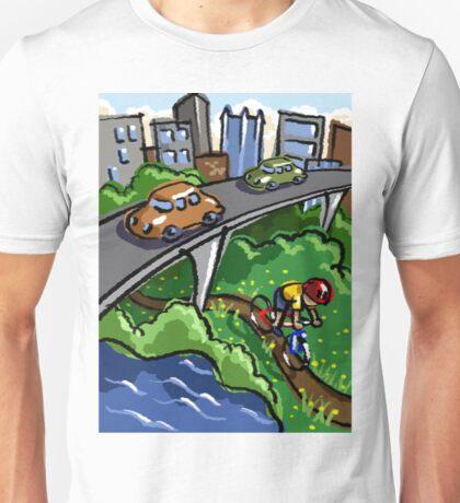 Urban Biking Unisex T-Shirt