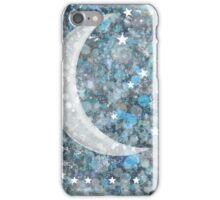 Crescent moon galaxy iPhone Case/Skin