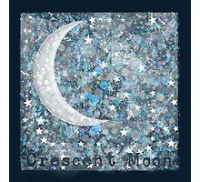 Crescent moon galaxy Photographic Print