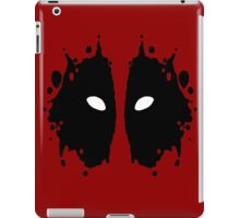 Deadpool Rorschach Test iPad Case/Skin