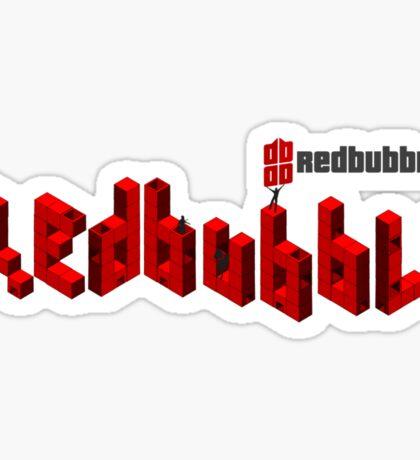 redbubble cubit condos lapse into logo  Sticker