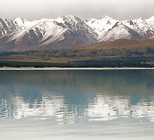 Snow Reflections - NZ by James Pierce