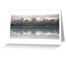 Snow Reflections - NZ Greeting Card