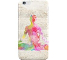 Yoga book iPhone Case/Skin