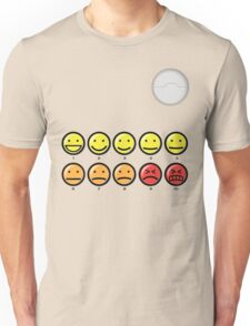 On a scale of 1-10 how would you rate your pain? Unisex T-Shirt