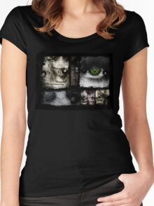 macabre mixture Women's Fitted Scoop T-Shirt