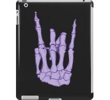 Skeleton hand | Lilac iPad Case/Skin