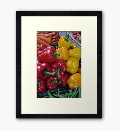 Colourful ... Framed Print
