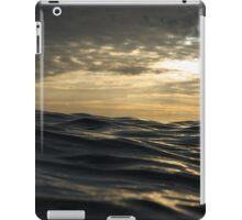 Sunset over the sea iPad Case/Skin