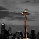 Seattle Sky Line by dbschanck