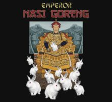 EMPEROR NASI GORENG (Too many rabbits...in China) by watertigerleo