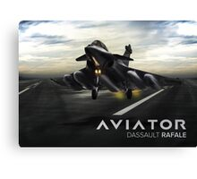 Dassault Rafale Fighter Jet Canvas Print